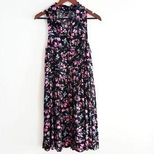 NWT Torrid button down floral shirt dress